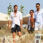 Marco e Fabio Borriello in vacanza a Formentera FOTO 4