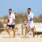 Marco e Fabio Borriello in vacanza a Formentera FOTO 6
