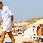 Marco e Fabio Borriello in vacanza a Formentera FOTO 17