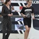 Charlotte Casiraghi versione rocker: indossa maglia dei Ramones a Parigi FOTO 3