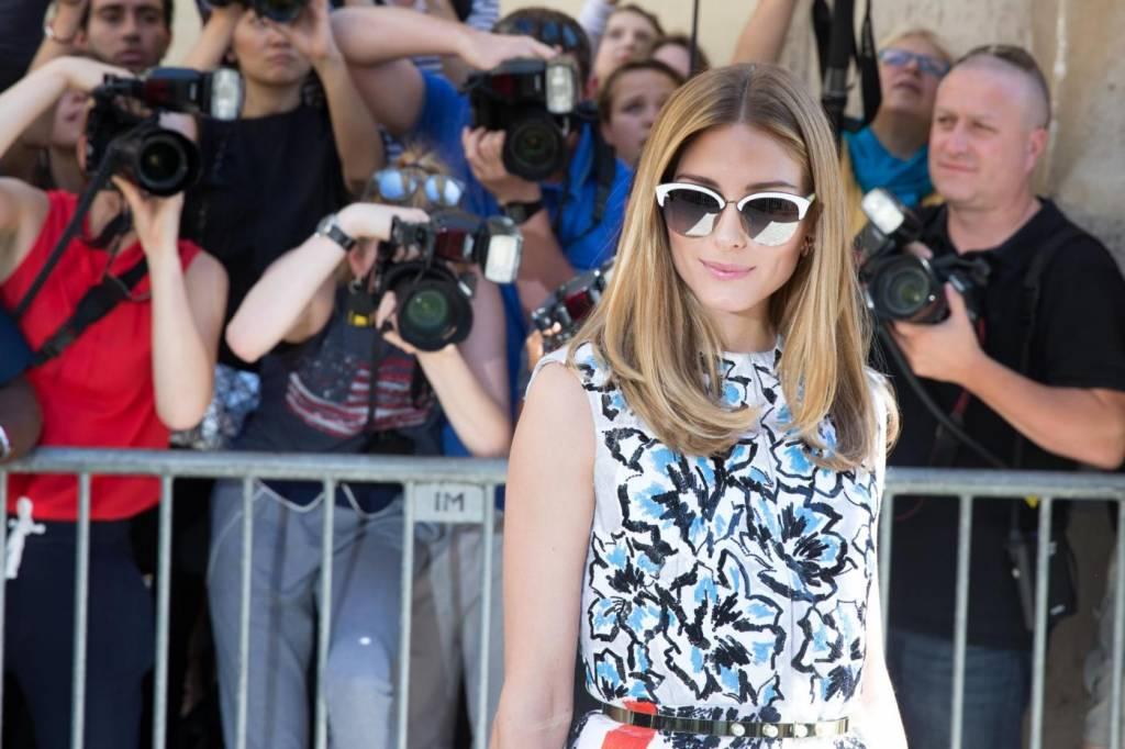 Chiara Ferragni, Olivia Palermo, Rosie Huntington-Whiteley alla sfilata Dior FOTO