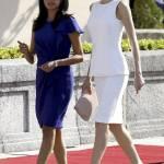 Letizia Ortiz di Spagna più sensuale che mai: tubino bianco e caschetto mosso FOTO 3