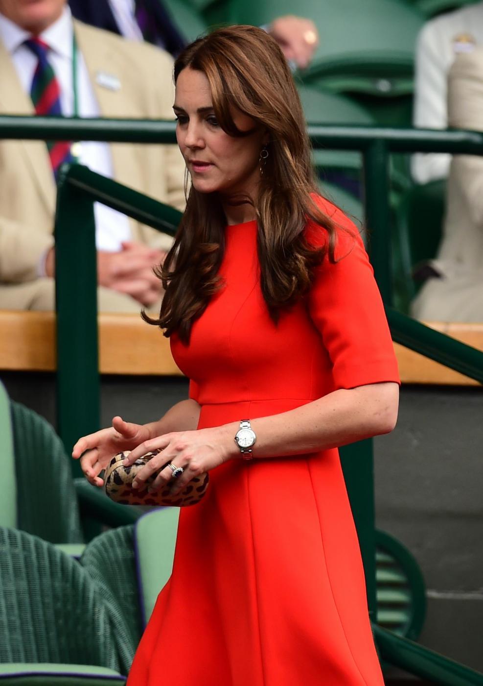 Kate Middleton, abito low cost da £250 a Wimbledon FOTO 25