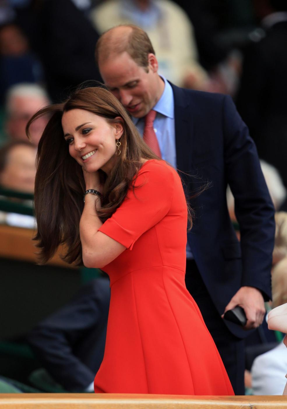 Kate Middleton, abito low cost da £250 a Wimbledon FOTO 1
