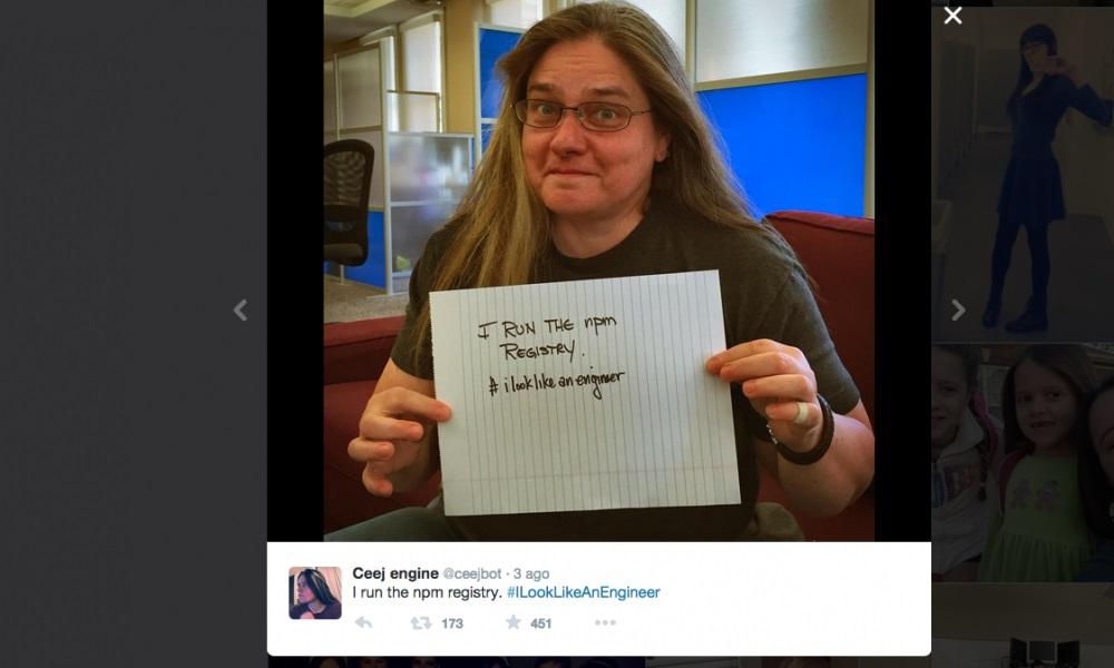#ILookLikeAnEngineer, donna ingegnere scambiata per modella si ribella5