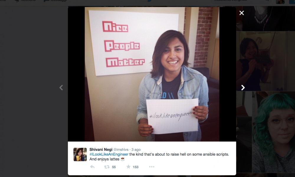 #ILookLikeAnEngineer, donna ingegnere scambiata per modella si ribella4