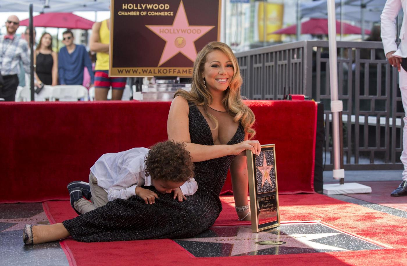 Mariah Carey riceve la stella sulla Hollywood Walk of Fame 17
