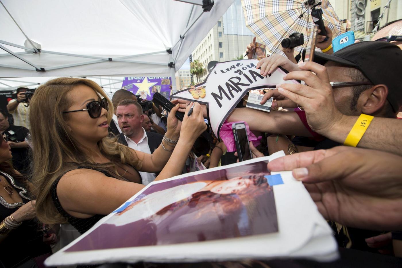 Mariah Carey riceve la stella sulla Hollywood Walk of Fame 6