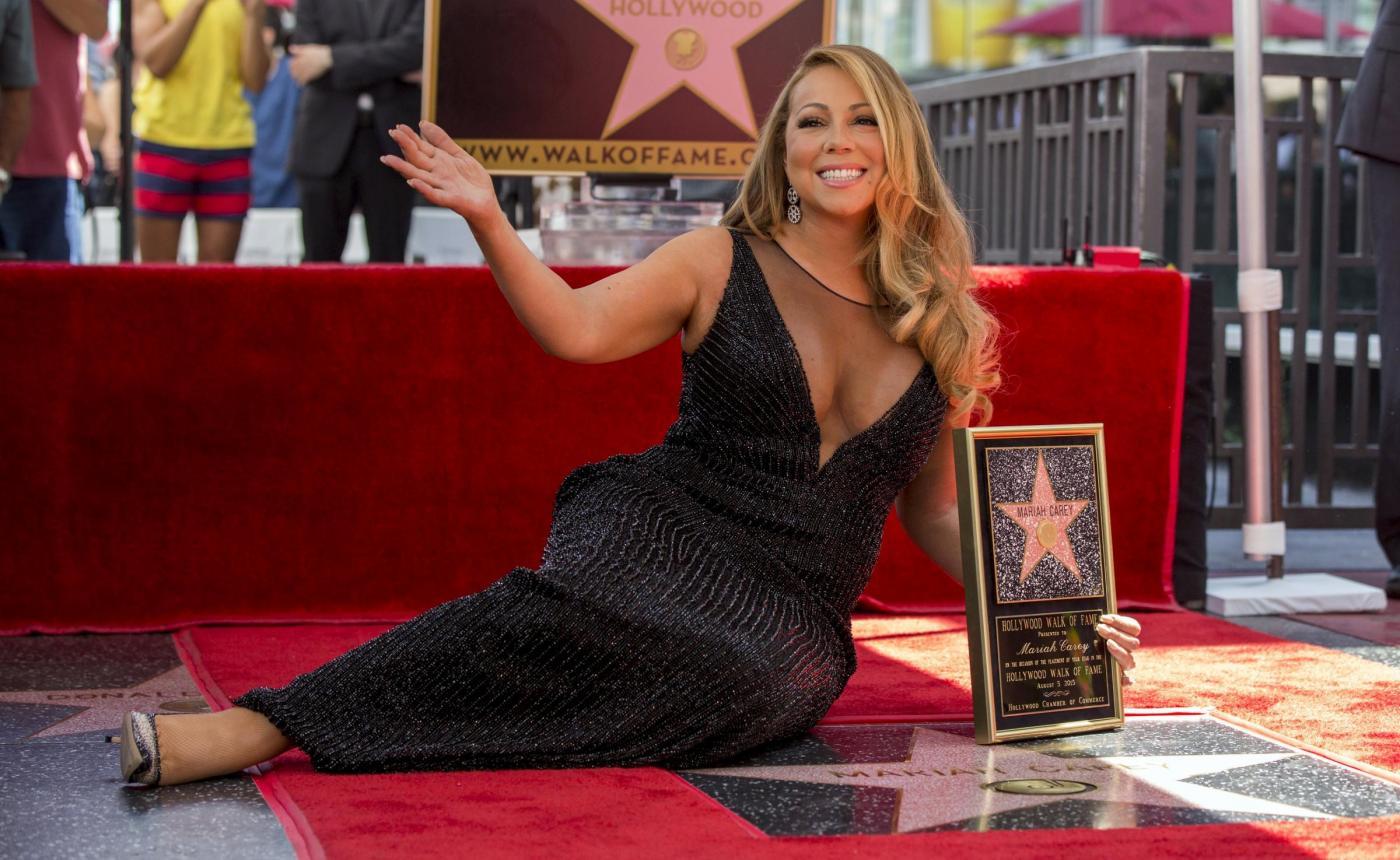 Mariah Carey riceve la stella sulla Hollywood Walk of Fame 5