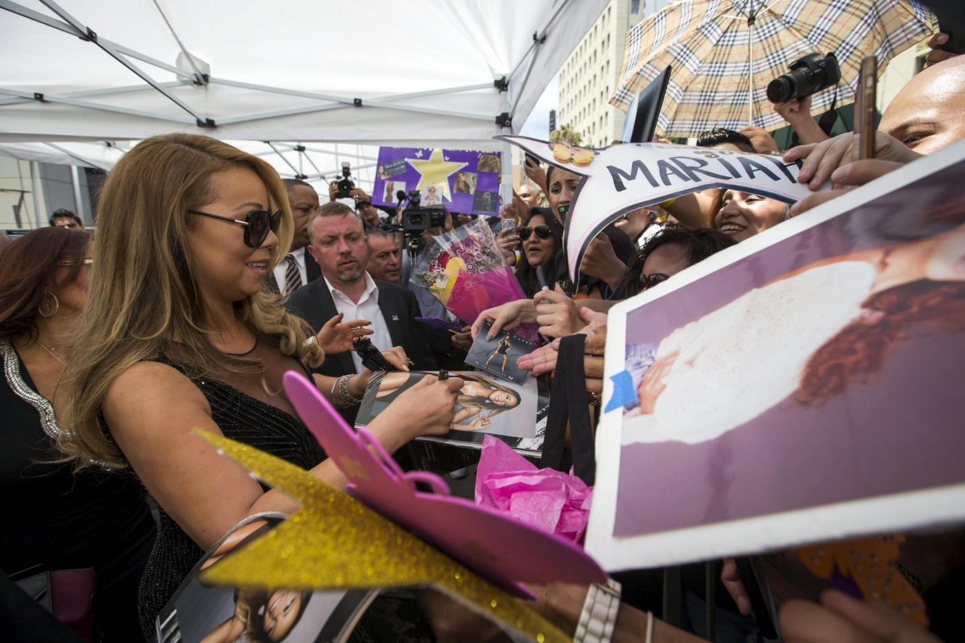 Mariah Carey riceve la stella sulla Hollywood Walk of Fame 4