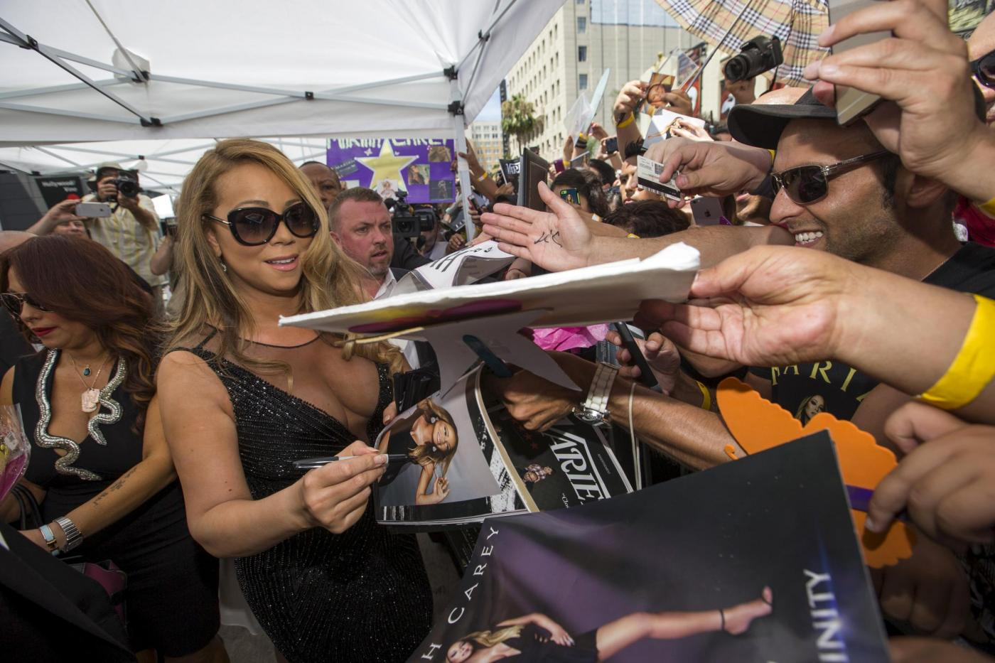 Mariah Carey riceve la stella sulla Hollywood Walk of Fame 3