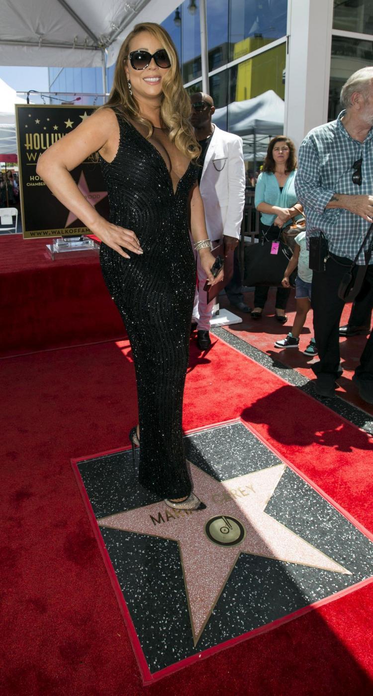 Mariah Carey riceve la stella sulla Hollywood Walk of Fame 2