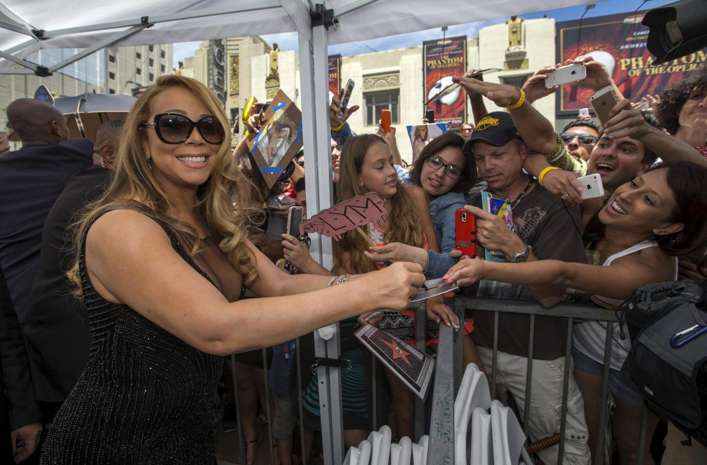 Mariah Carey riceve la stella sulla Hollywood Walk of Fame 1