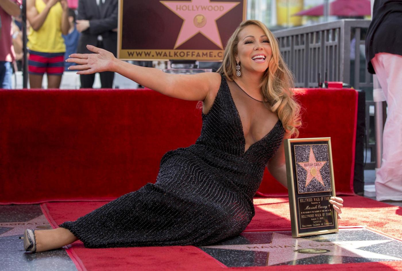 Mariah Carey riceve la stella sulla Hollywood Walk of Fame 15