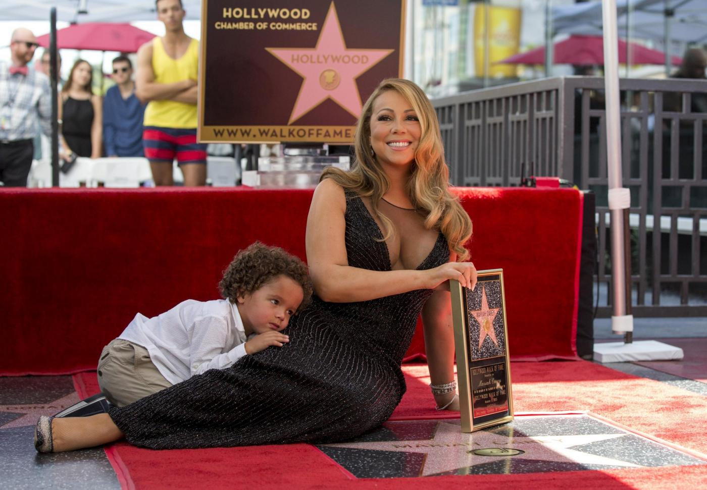 Mariah Carey riceve la stella sulla Hollywood Walk of Fame 13
