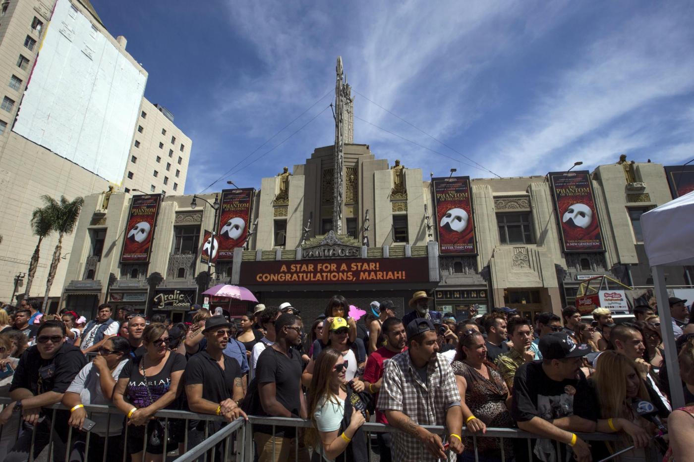 Mariah Carey riceve la stella sulla Hollywood Walk of Fame 9