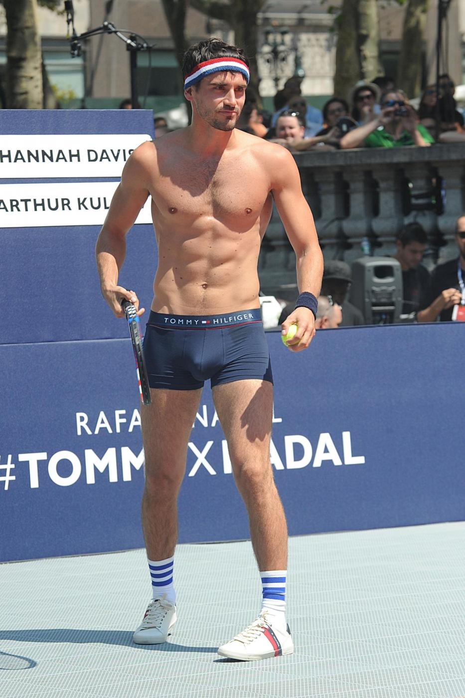 Rafael Nadal in mutande per Tommy Hilfiger VIDEO 6