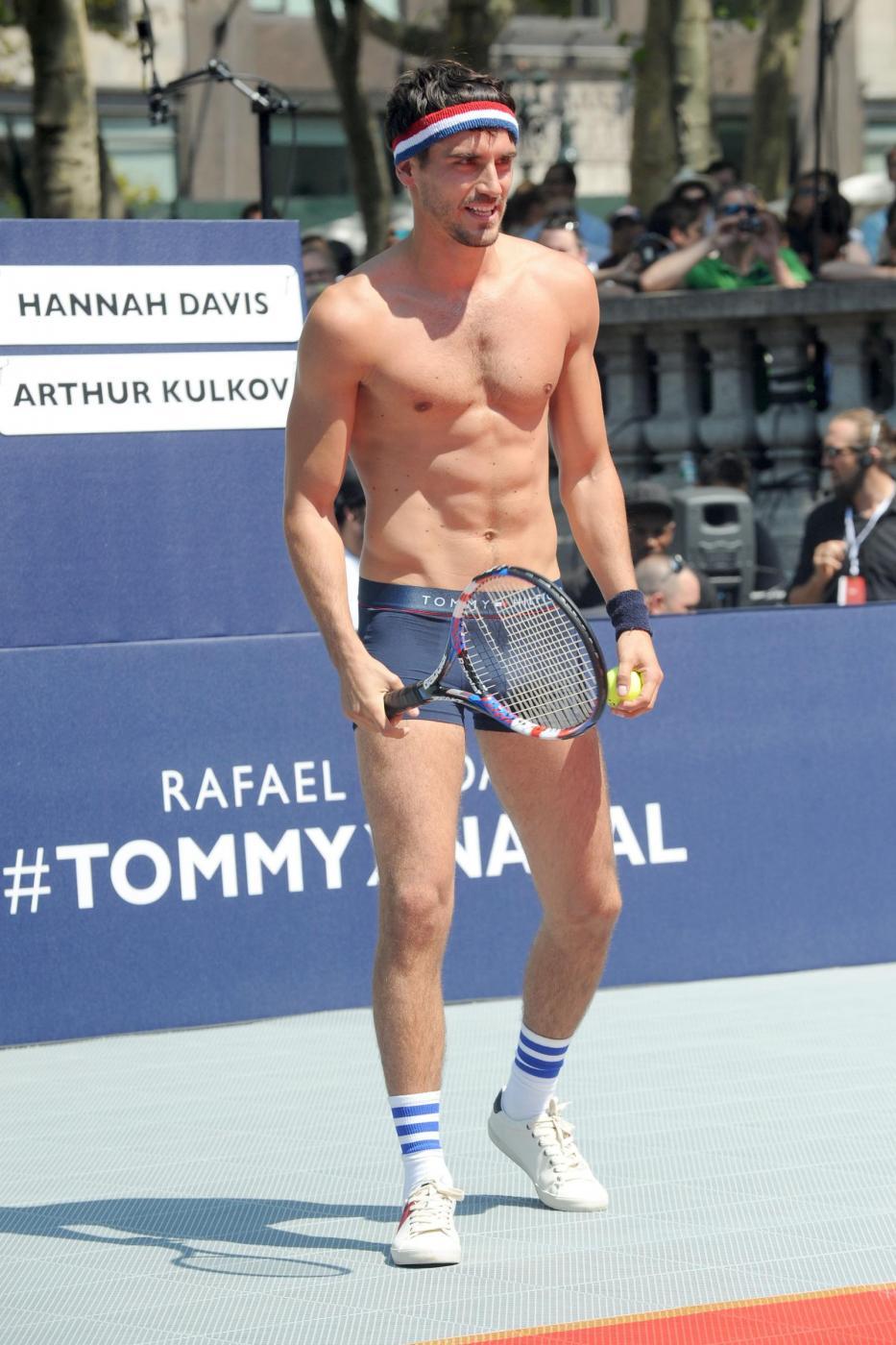 Rafael Nadal in mutande per Tommy Hilfiger VIDEO 7