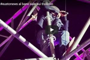Al Bano Carrisi a 72 anni vola e canta sui tralicci! VIDEO