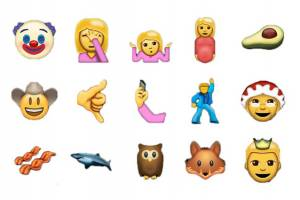 WhatsApp nuove emoticon: cowboy, principe, bacon...