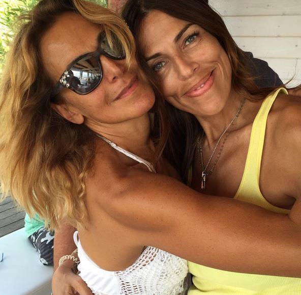 Barbara d'Urso e Fabiola Sciabbarrasi insieme in vacanza