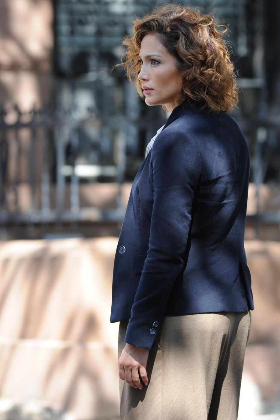 "Jennifer Lopez poliziotta sul set di ""Shades of Blue""1"