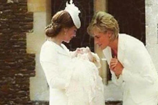 Kate Middleton insieme a Lady Diana: fotomontaggio commuove web