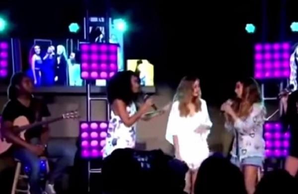 Zayn Malik, Perrie Edwards piange durante concerto VIDEO