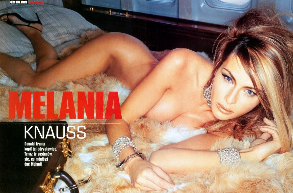 Melania Trump, aspirante first lady che posò nuda FOTO