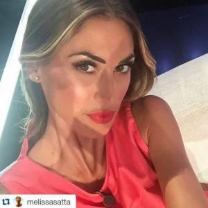 Melissa Satta-Andrea Delogu: volti del calcio a confronto FOTO 15