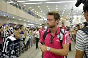 Marchisio, Buffon, Llorente, Pogba a Shanghai: arrivo in aeroporto FOTO 24