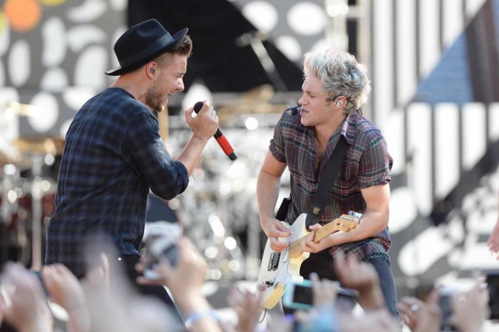 One Direction, Harry Styles e il resto del gruppo in concerto a New York FOTO
