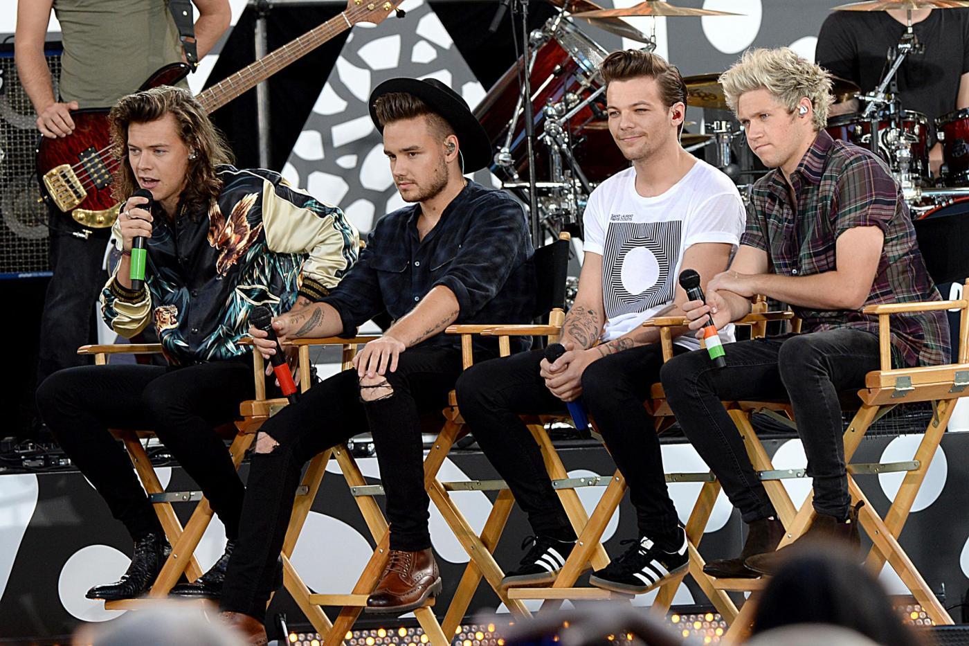 One Direction, Harry Styles e il resto del gruppo in concerto a New York FOTO 24