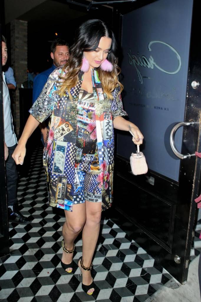 Katy Perry con lo shatush: la cantante cambia look