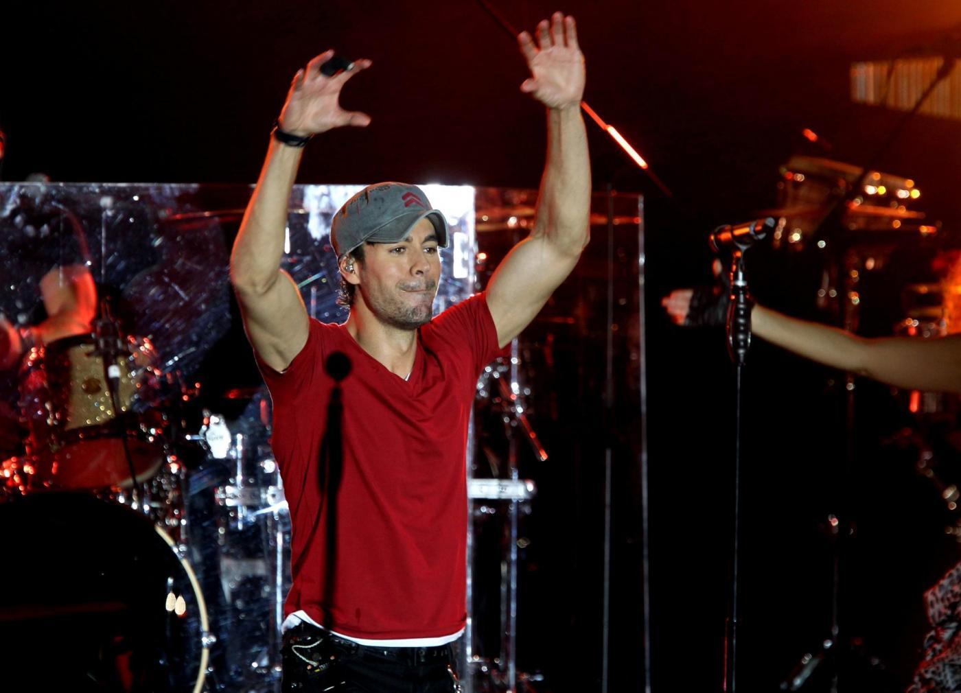 Enrique Iglesias in concerto a Monte Carlo FOTO 3