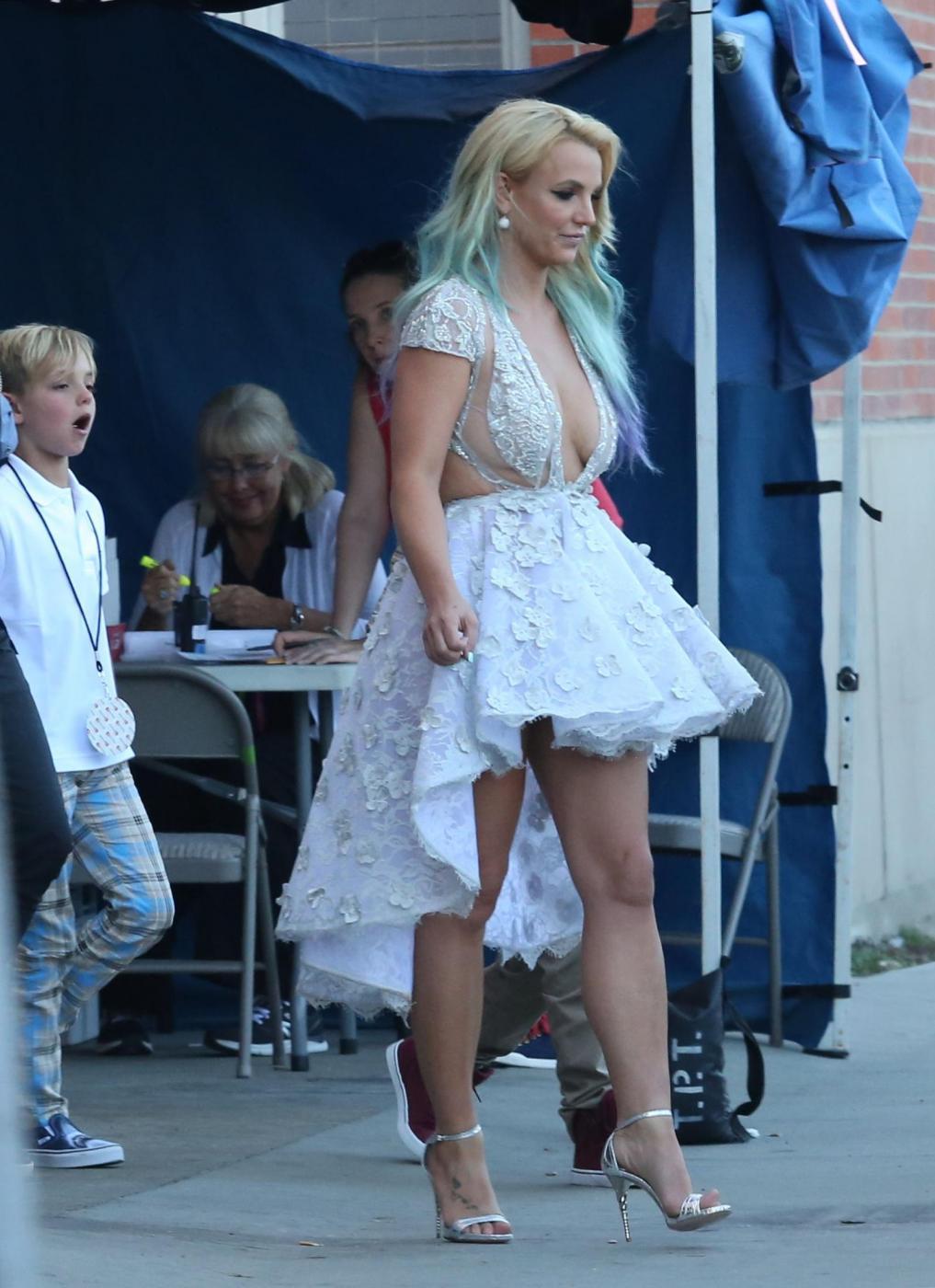 Britney Spears, abito scollato ai Teen Choice Awards 7