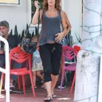 Elisabetta Canalis, pranzo a Hollywood con gli amici 5