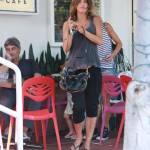 Elisabetta Canalis, pranzo a Hollywood con gli amici 7