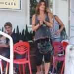 Elisabetta Canalis, pranzo a Hollywood con gli amici 8