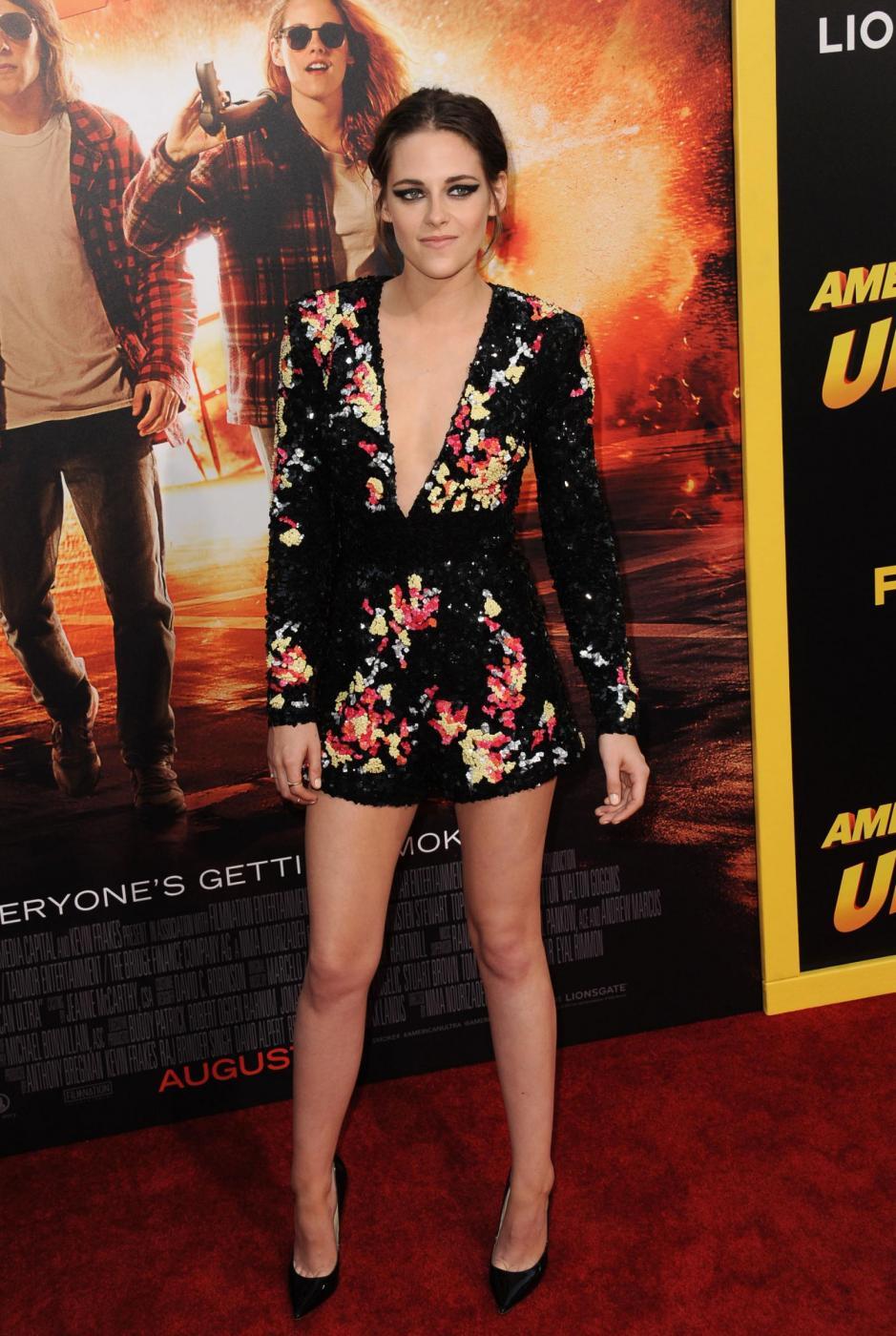 Kristen Stewart, mini abito firmato Zuhair Murad a Los Angeles 3