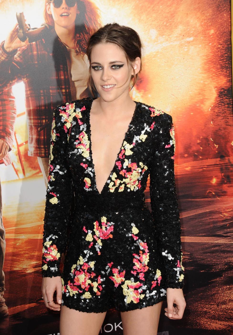 Kristen Stewart, mini abito firmato Zuhair Murad a Los Angeles 6