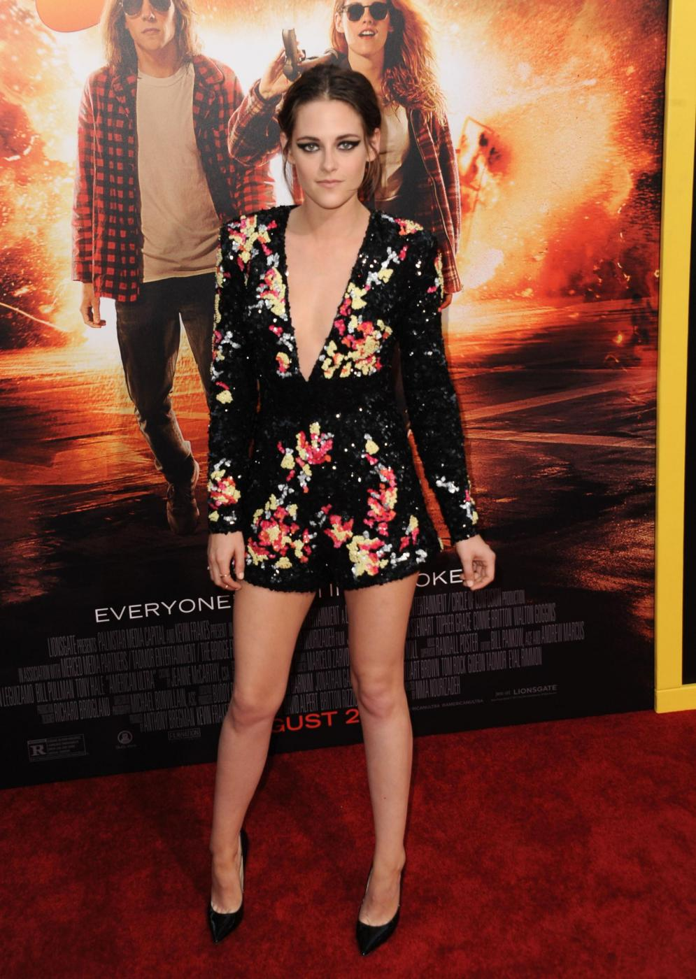 Kristen Stewart, mini abito firmato Zuhair Murad a Los Angeles 8