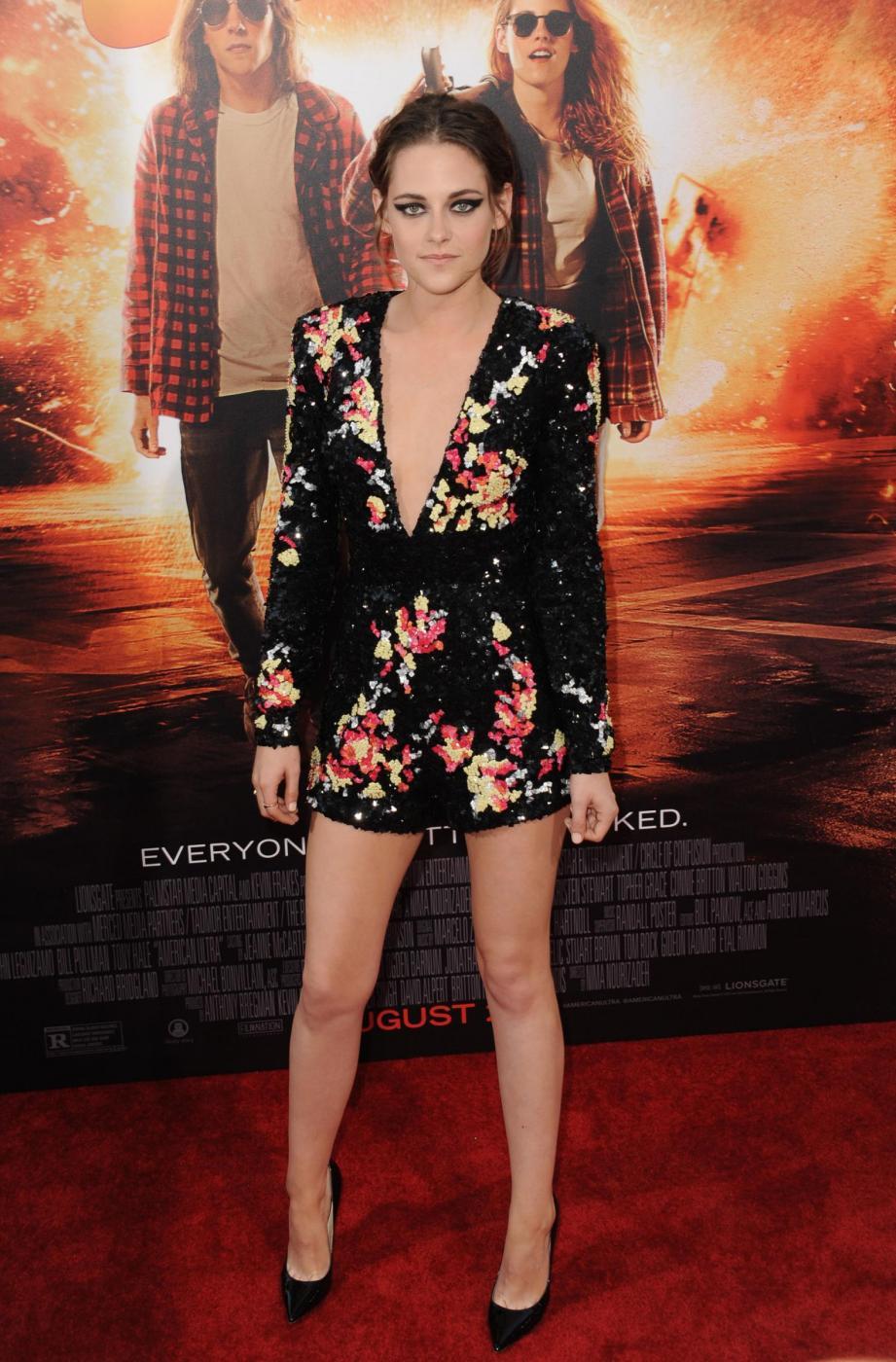 Kristen Stewart, mini abito firmato Zuhair Murad a Los Angeles 11