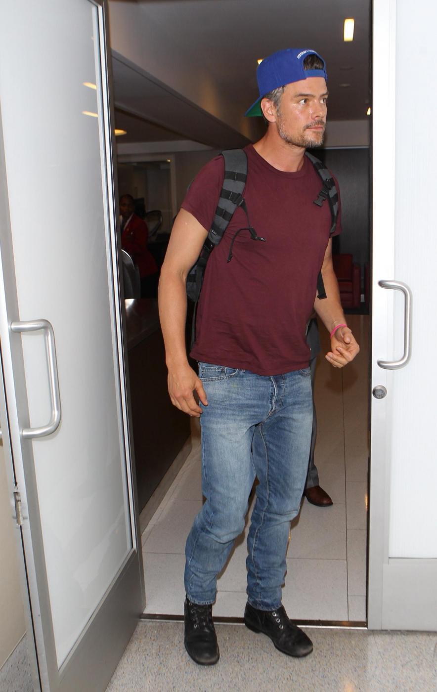 Josh Duhamel e la moglie Fergie a Los Angeles FOTO 5