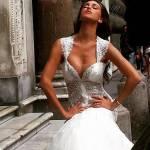 Belen Rodriguez in abito da sposa per Atelier Vanitas FOTO/VIDEO