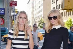 Paris e Nicky Hilton fanno shopping a New York FOTO