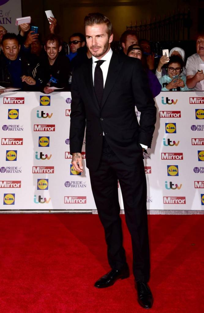 David Beckham il più acclamato ai Pride of Britain Awards