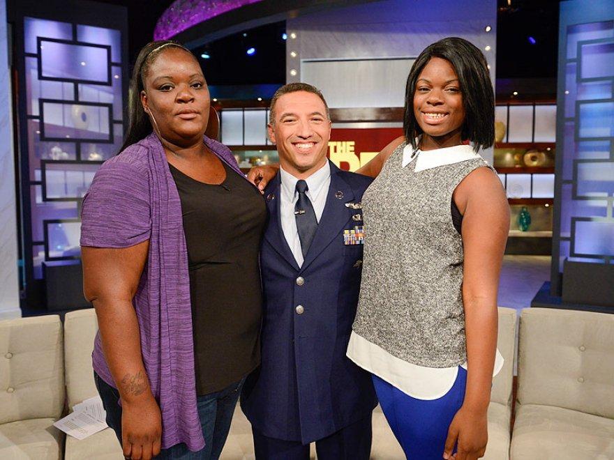Militare e bambina, abbraccio 10 anni dopo uragano Katrina4