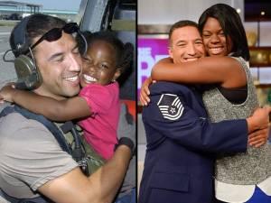 Militare e bambina, abbraccio 10 anni dopo uragano Katrina (2)