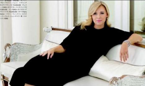 """Valérie Trierweiler confessa fotoritocco: """"Ho 50 anni e lo so"""""""